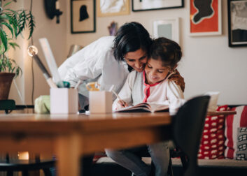 7 gouden tips voor ontspannen thuisscholing