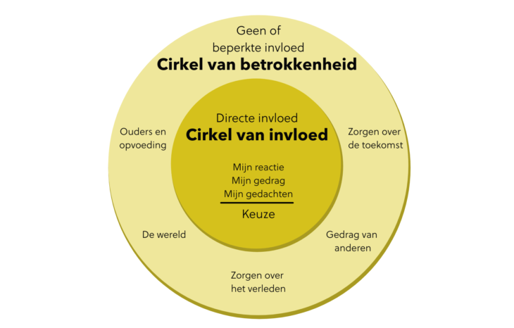 cirkel van invloed en betrokkenheid